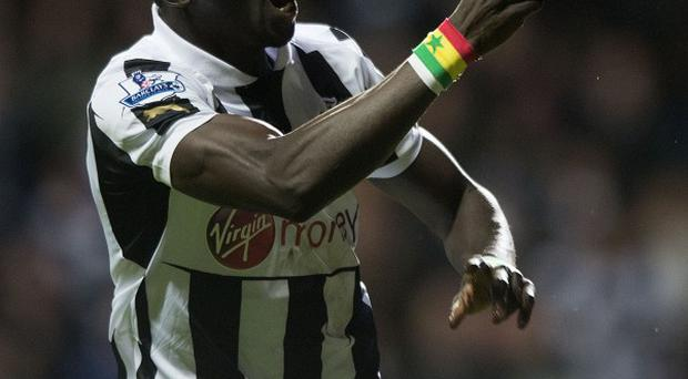 Papiss Cisse opened the scoring for Newcastle as they beat Aston Villa