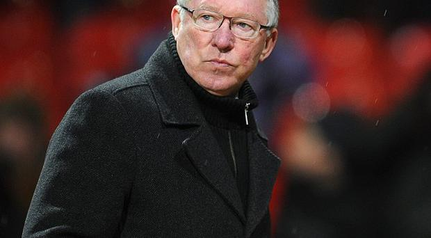 Sir Alex Ferguson, pictured, has been charged in relation to comments made regarding Simon Beck's performance against Spurs
