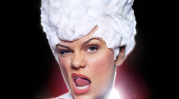 Jessie J has admitted she's nervous about shaving her head for Comic Relief
