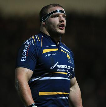 Euan Murray has committed his future to Worcester