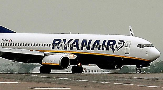 Ryanair has been ordered to pay compensation to passengers stranded after a volcano eruption in Iceland