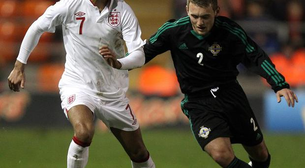 Lee Hodson, right, has been called up to the Northern Ireland squad