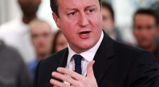 David Cameron has previously indicated that the Armed Forces would be spared further spending cuts