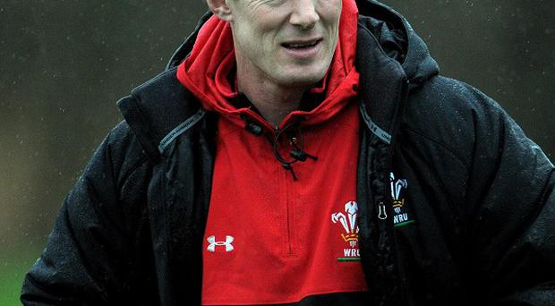 Rob Howley, pictured, has named Andrew Coombs in his starting line-up