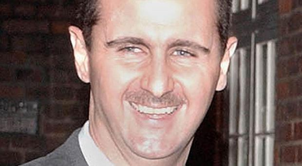 There are fears president Bashar Assad's regime is providing weapons to the Islamic militant group Hezbollah