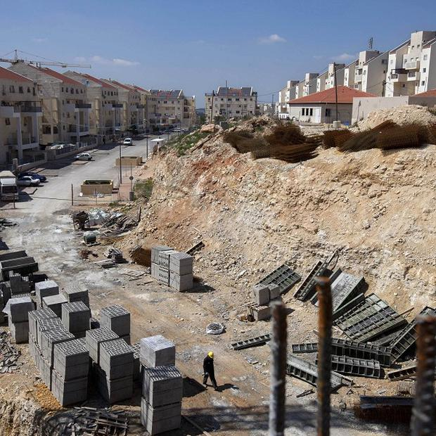 The UN says West Bank Jewish settlements violate the rights of Palestinians. (AP)