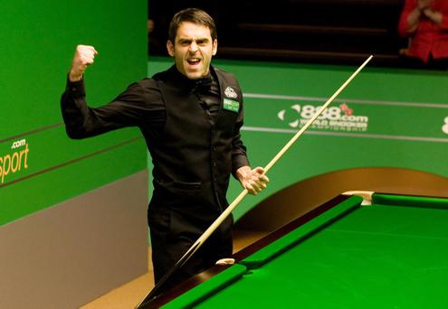 Ronnie O'Sullivan is currently taking a break from snooker but will make a comeback at the Waterfront Hall in Belfast