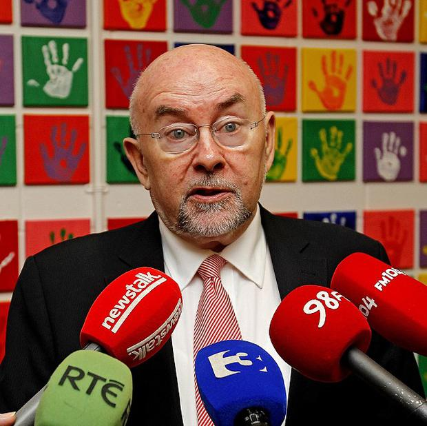 Education Minister Ruairi Quinn has launched new guidelines for preventing suicide in schools