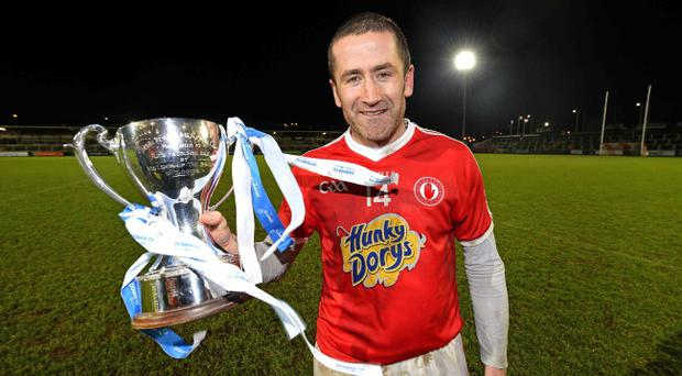 Stephen O'Neill will turn his attention to the league after leading Tyrone to victory over Monaghan in the McKenna Cup final at the Athletic Grounds in Armagh