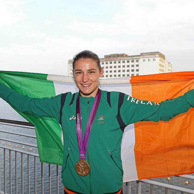 Katie Taylor is set to return to the ring in February