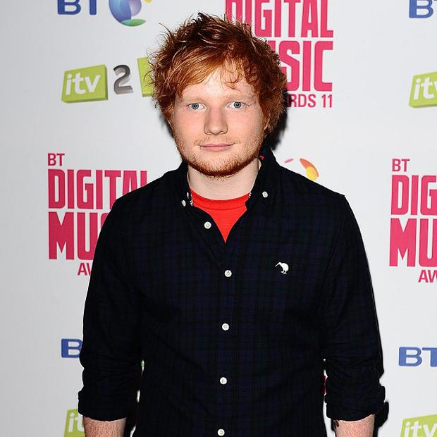 Ed Sheeran is looking for a house in America