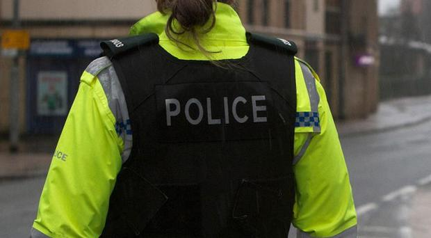Police are examining component parts of a viable pipe bomb which was found in Ballyclare
