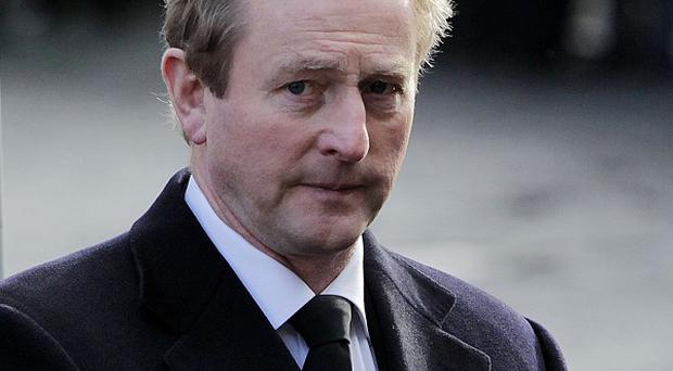 Enda Kenny criticised former Provos for refusing to give evidence in person at the inquiry