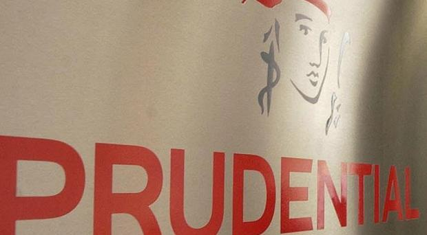 Insurer Prudential revealed a £3.9bn hit to its asset management arm