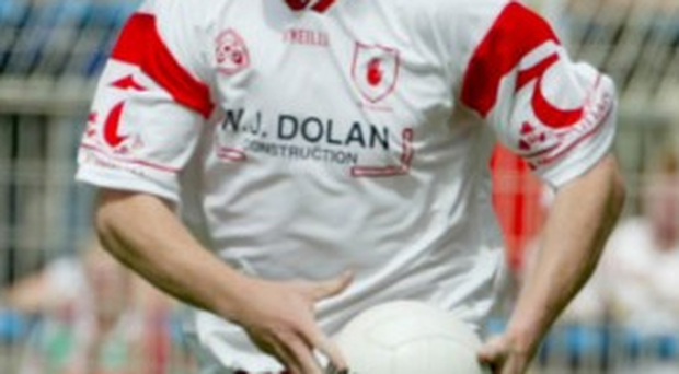 Tyrone GAA captain Cormac McAnallen, who died from sudden cardiac death