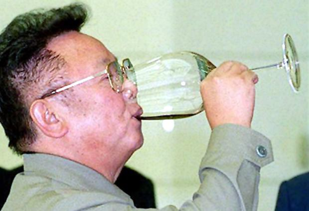 North Korea's former leader Kim Jong-Il allegedly spent $1 million a year on Hennessy cognac
