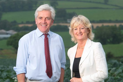 Martin and Tracy Hamilton, directors of Mash Direct