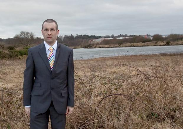 Alliance councillor Andrew Muir is awaiting a solution to the sewage stench problem at Kinnegar Lagoons