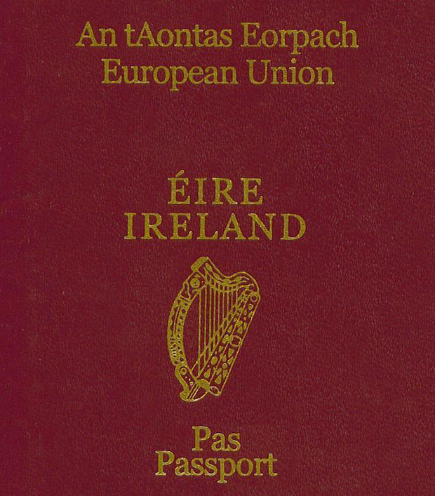 There's been a sharp rise in Irish passport applications.