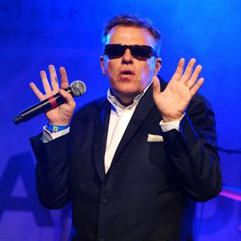 Madness covered David Bowie's song Kooks at Glastonbury