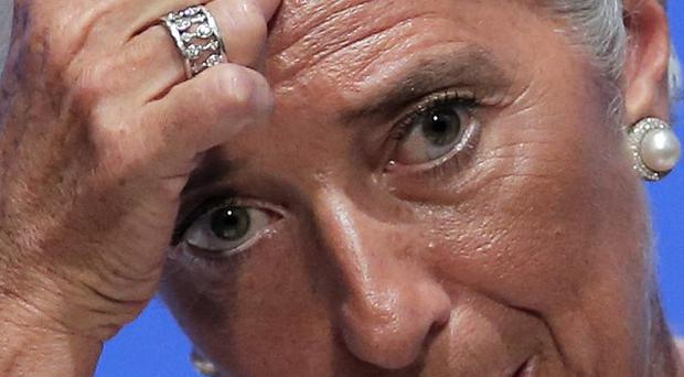IMF managing director Christine Lagarde could face as much as one year in jail if convicted (AP)