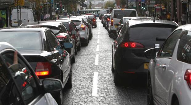 A motorist has amassed more than £4,000 worth of fines after repeatedly driving in Belfast's bus lanes - but has yet to pay a single penny
