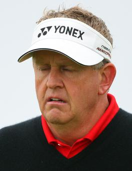 Colin Montgomerie was part of the delegation which presented golf's Olympic bid in 2009
