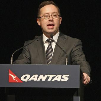 Qantas chief executive officer Alan Joyce