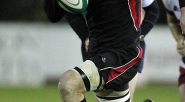 Former Ulster flanker Ali Birch scored one of the tries in Armagh's comeback victory