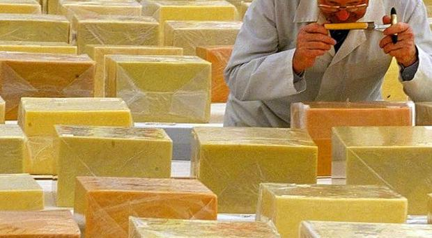 UK represents the only viable market for cheddar