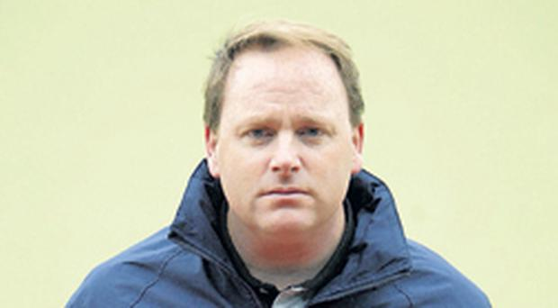 Irish coach Dave Passmore