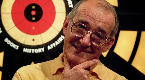 Former Bullseye presenter Jim Bowen