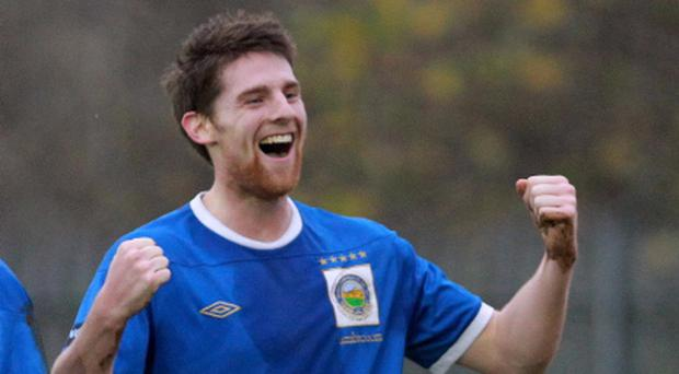 Daryl Fordyce played for Linfield between 2011 and 2013.