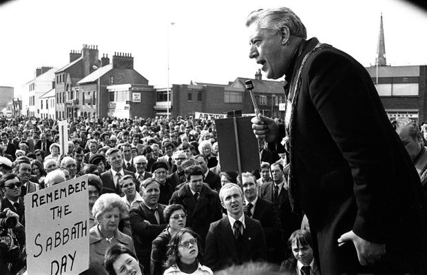Ian Paisley led a campaign against the decriminalisation of homosexuality in Northern Ireland.