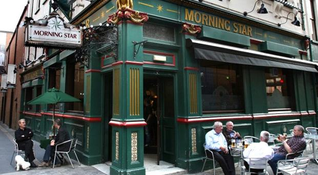 The Morning Star in Belfast was evacuated on Tuesday night.