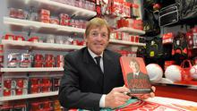 ©Press Eye Ltd - Northern Ireland 5th November 2010Liverpool legend Kenny Dalglish pictured todat at the new Liverpool superstore opened at Castle Place.Picture Stephen  Hamilton /Presseye.com