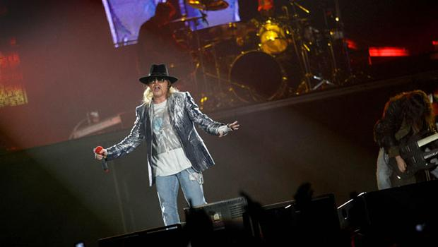 Guns n' Roses live at the Odyssey Arena in Belfast