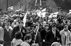 Ulster Vanguard Movement: Ulster Vanguard Association Rally at Stormont. 29/03/72
