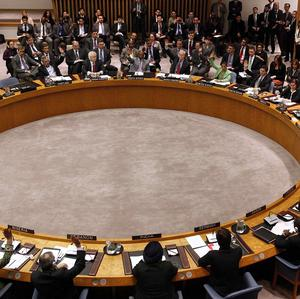 Member states vote to approve a resolution that will impose a no-fly zone over Libya (AP)