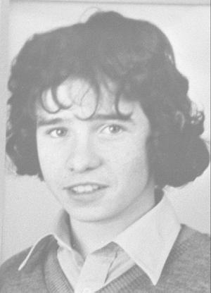 Roddy Carroll (INLA) who was shot dead by the RUC along with Seamus Grew in Armagh.