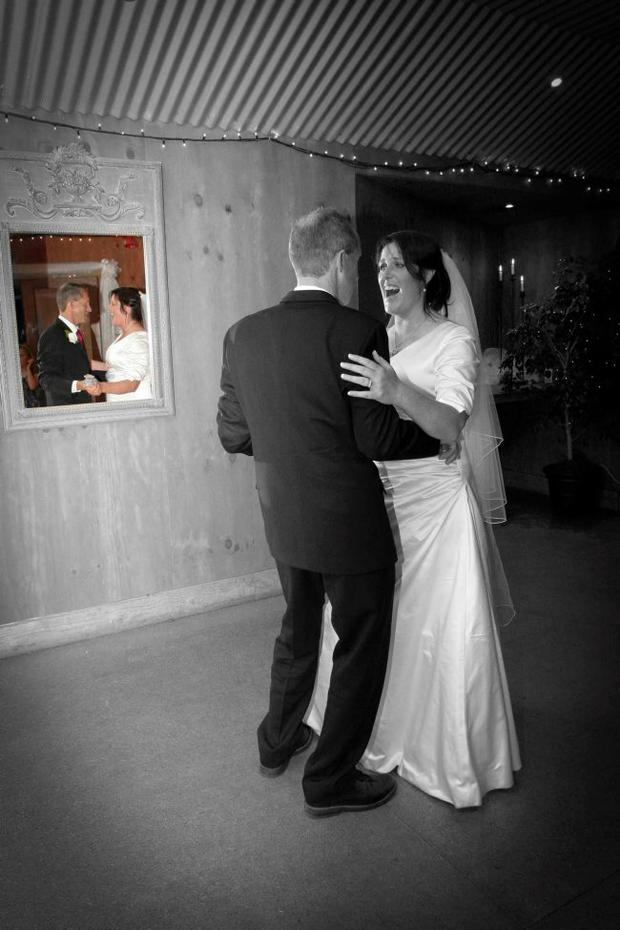 """The wedding of Tony and Denise Zonneveld in New Zealand <p><b>To send us your Wedding Pics <a  href=""""http://www.belfasttelegraph.co.uk/usersubmission/the-belfast-telegraph-wants-to-hear-from-you-13927437.html"""" title=""""Click here to send your pics to Belfast Telegraph"""">Click here</a> </a></p></b>"""