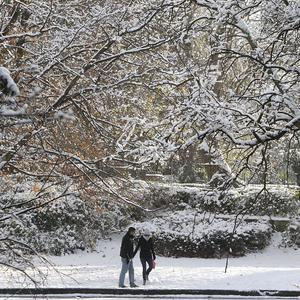 Commuters have been warned about travel problems as temperatures plummet across Ireland
