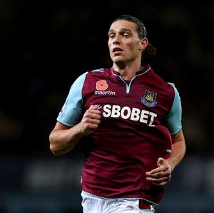 Andy Carroll was quizzed by police in Dublin
