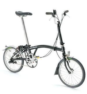 FOLD-UP  <b>Brompton M3</b><br/> The Brompton's curved top tube and titchy wheels have made it an icon of British design, invoking a peculiar passion among fold-up fans. They come in three types, including the classic M3, and can be custom built.  <b>Where</b> www.brompton.co.uk  <b>How much</b> £735