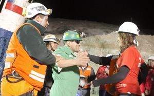 Scenes from the Chile mine rescue. October 2010