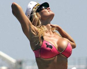 Pamela Anderson  - Baywatch icon who influenced millions of woman