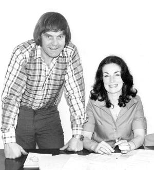 Roisin Walsh  with David Dunseith .  1979.