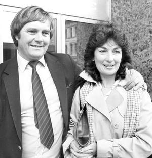 David Dunseith and Roisin Walsh.  16/5/1983