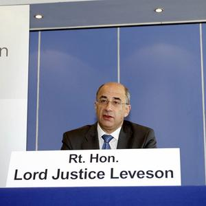 Lord Justice Leveson is chairing a wide-reaching inquiry into press standards