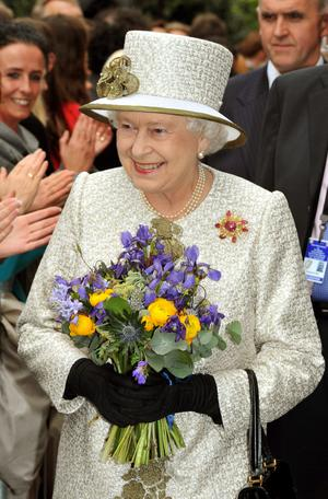 Queen Elizabeth's state visit to the Republic of Ireland. May 2011